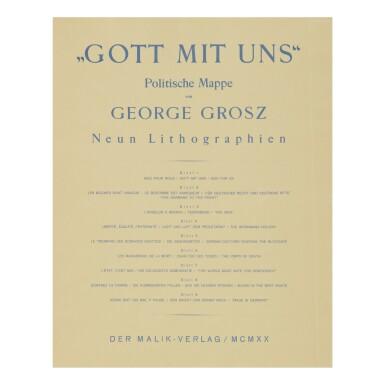 View 11. Thumbnail of Lot 107. GEORGE GROSZ   GOTT MIT UNS (DÜCKERS M III).