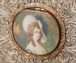A PARCEL-GILT SILVER SINGING-BIRD BOX, FRANCE, CIRCA 1880 | BOÎTE À OISEAU CHANTEUR EN ARGENT ET VERMEIL, FRANCE, VERS 1880