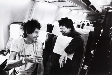 View 1. Thumbnail of Lot 75. Keith Richards, Mick Jagger - Madrid - Marseille 1990.