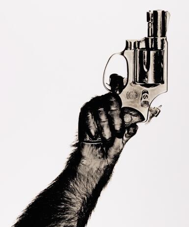 ALBERT WATSON   'MONKEY WITH GUN', NEW YORK CITY, 1992