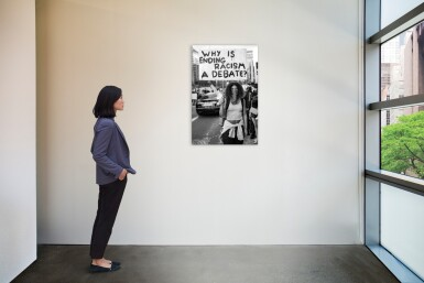 View 2. Thumbnail of Lot 21. MISAN HARRIMAN | 'WHY IS ENDING RACISM A DEBATE?' LONDON, JUNE, 2020.