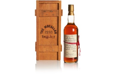 THE MACALLAN RED RIBBON 43.0 ABV 1950