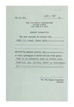 Lot 9 Postmaster's Provisional, New York, NY. 1845 5c Black (9X1d)