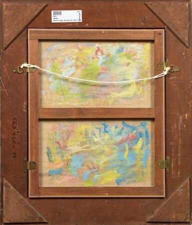 View 3. Thumbnail of Lot 38. ACHILLE LAUGÉ | VASE DE ROSES ET DE PIVOINES.