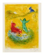 MARC CHAGALL | THE WOLF PIT (M. 312; SEE C. BKS. 46)