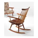 "GEORGE NAKASHIMA | ""HOST NEW CHAIR"" ROCKER"