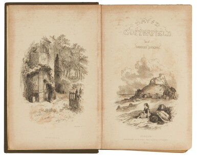 Dickens, David Copperfield, 1850, first book edition, bound from the parts