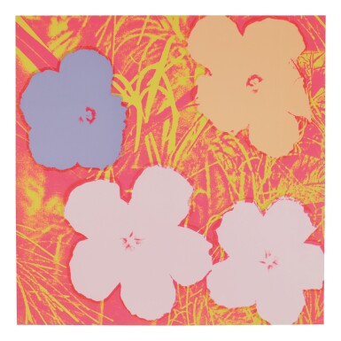 View 7. Thumbnail of Lot 63. ANDY WARHOL | FLOWERS (F. & S. II.64-73).