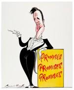 "SCARFE | [THE 2010s] | ""Promises Promises Promises"" [David Cameron]"