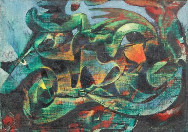 View 1. Thumbnail of Lot 14. Ohne Titel (Untitled)      .