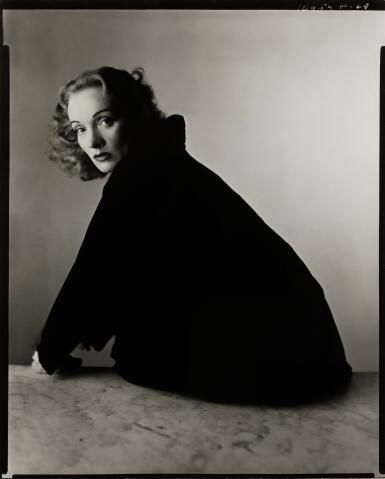 IRVING PENN | 'MARLENE DIETRICH', NEW YORK, 1948
