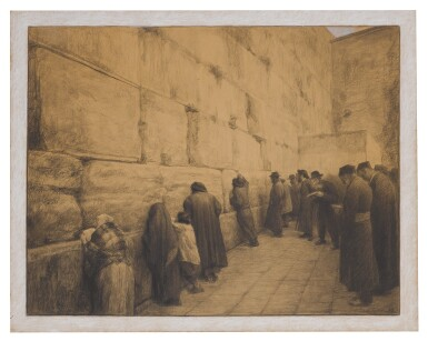 View 1. Thumbnail of Lot 2.  JEHUDO EPSTEIN | THE WESTERN WALL.