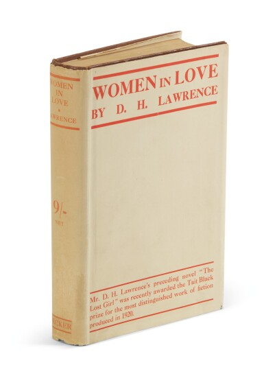 View 2. Thumbnail of Lot 154. Lawrence, three first editions, 1913-1921.