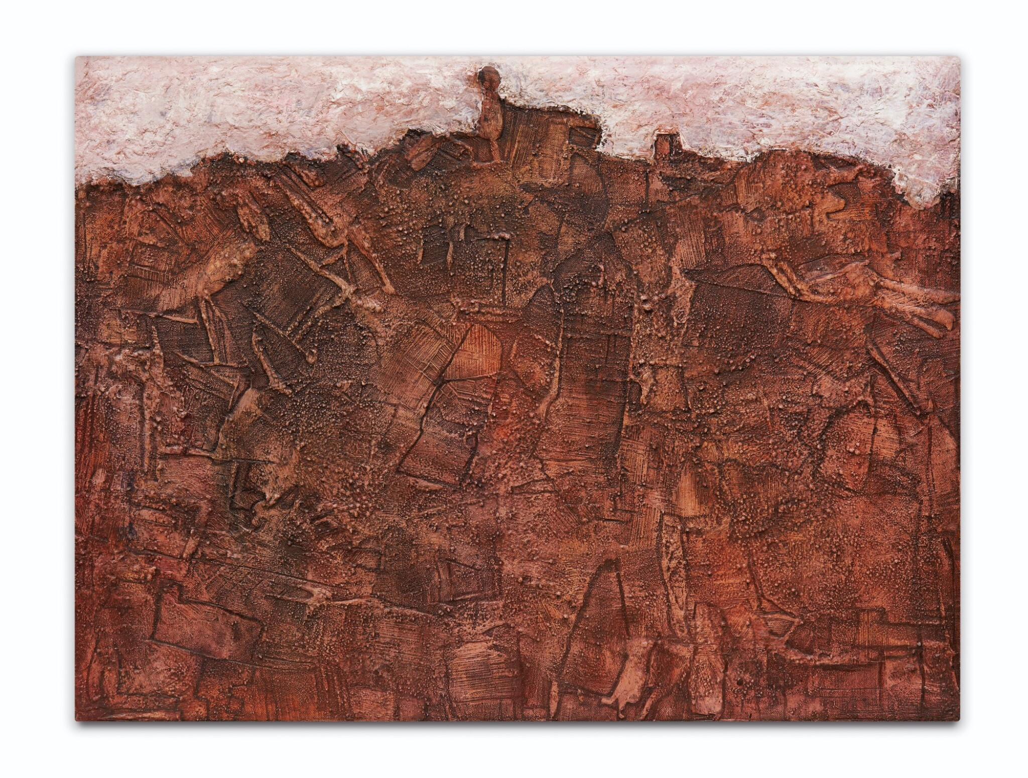 View full screen - View 1 of Lot 5. Paysage avec êtres tentant de se former (Landscape in Metamorphosis).