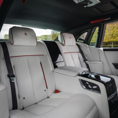 View 8. Thumbnail of Lot 1. Red Rolls-Royce Phantom Commission with Mickalene Thomas.