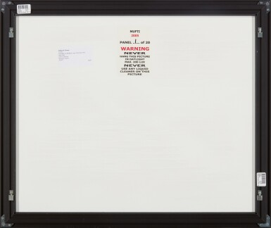 View 4. Thumbnail of Lot 287. GILBERT & GEORGE   MUFTI.