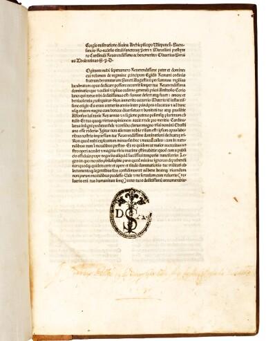 Aegidius (Columna) Romanus, De regimine principum, Rome, 1482, later wooden boards