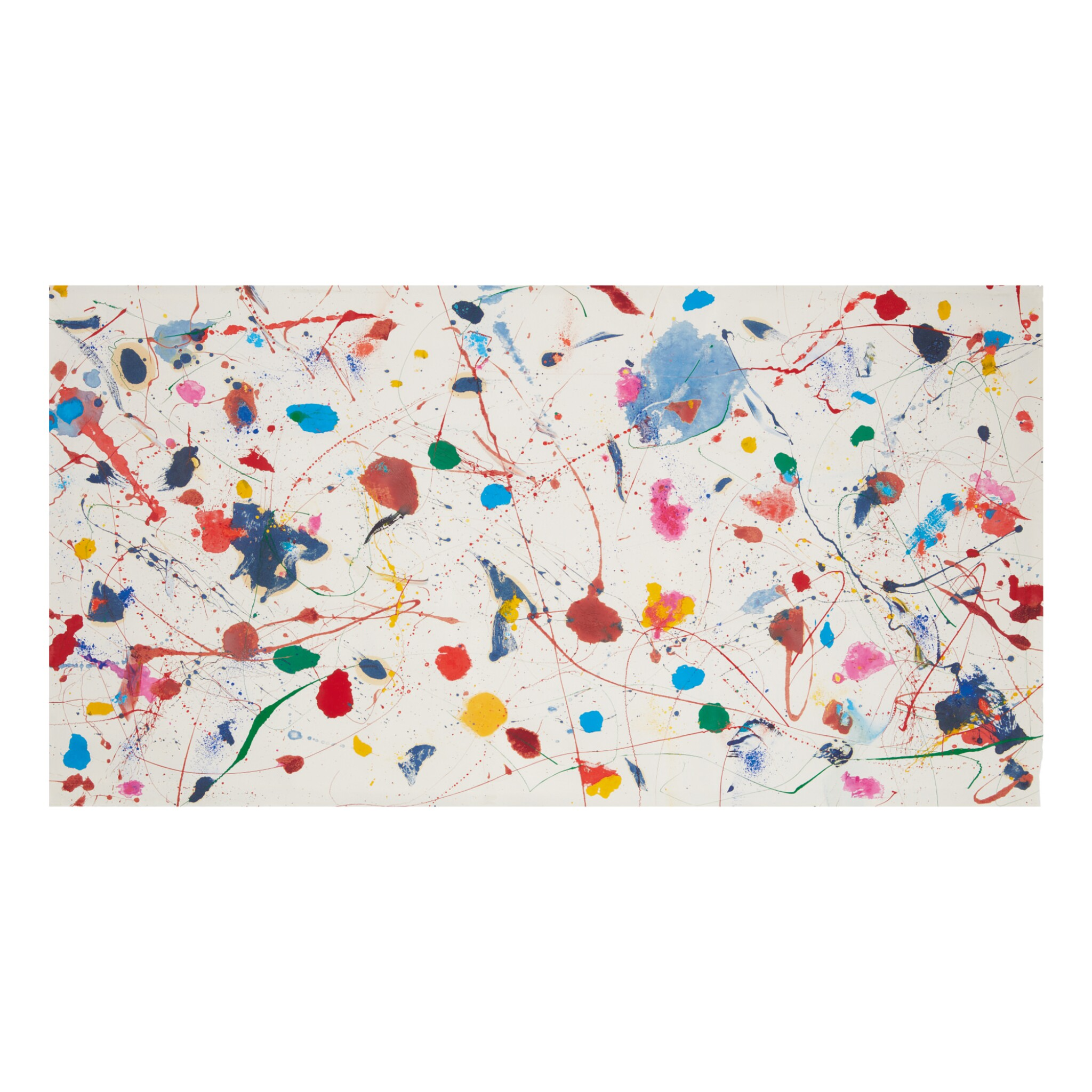 View full screen - View 1 of Lot 200. SAM FRANCIS | UNTITLED (SFM82-304).