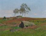 Silver Birches in a Landscape