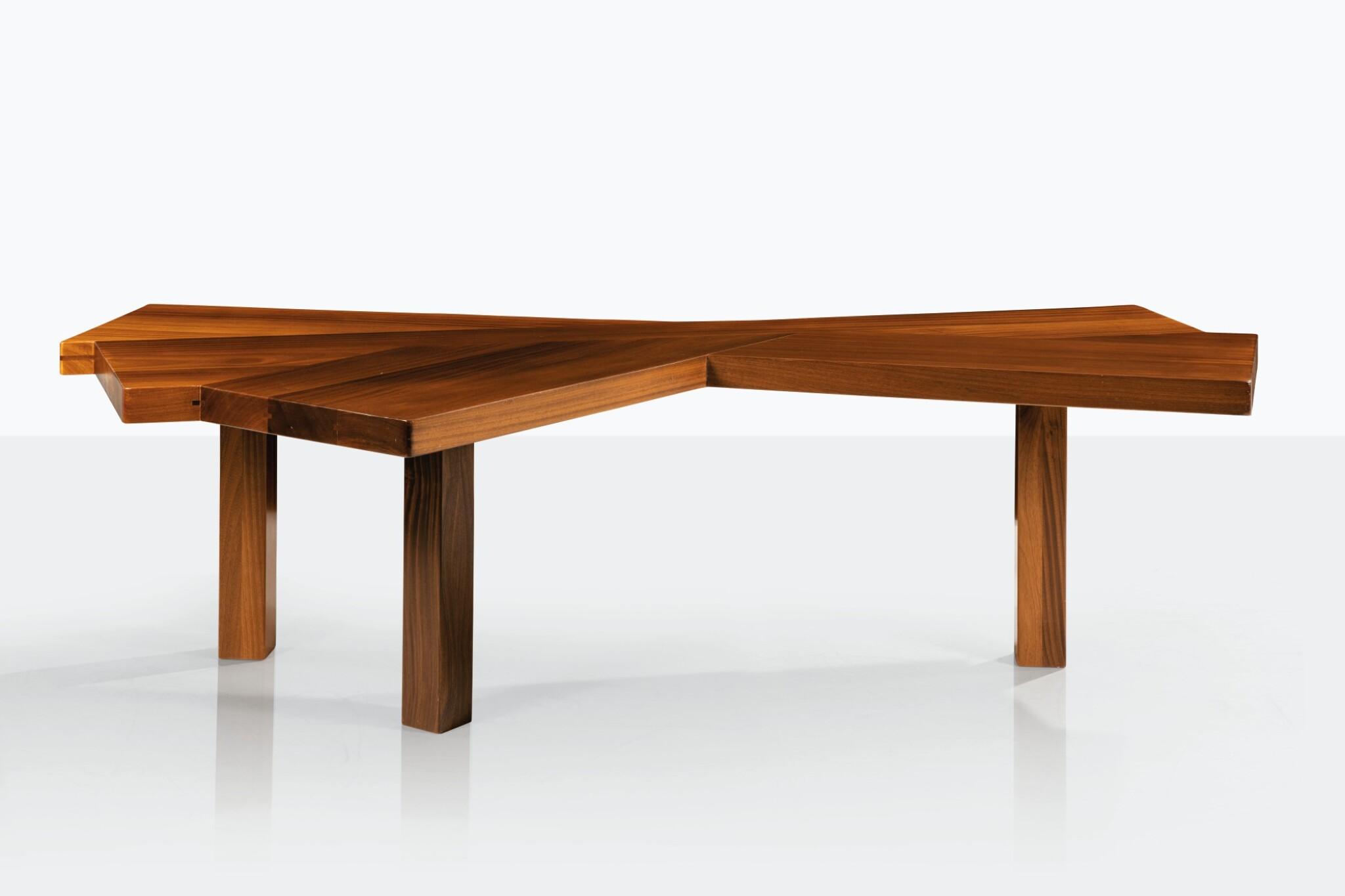 Table Eventail, pièce unique