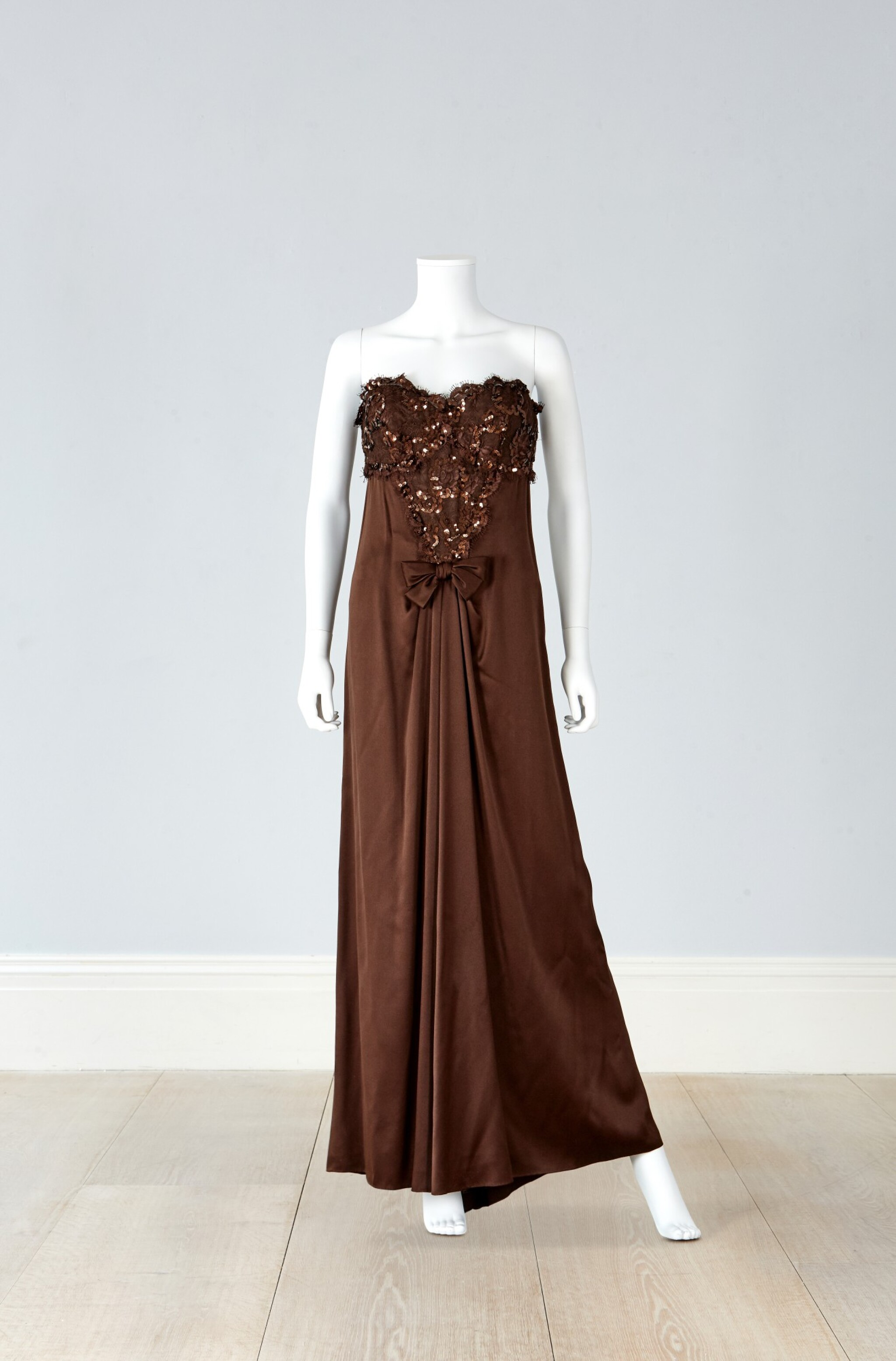 View 1 of Lot 38. Haute Couture Fourreau Evening Dress, Autumn/Winter Collection, 1991.