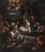 FRANCESCO DA PONTE, IL GIOVANE CALLED BASSANO | The Adoration of the Shepherds
