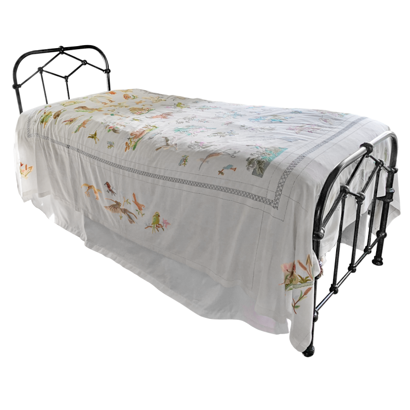 Victorian Narrow Twin Bed