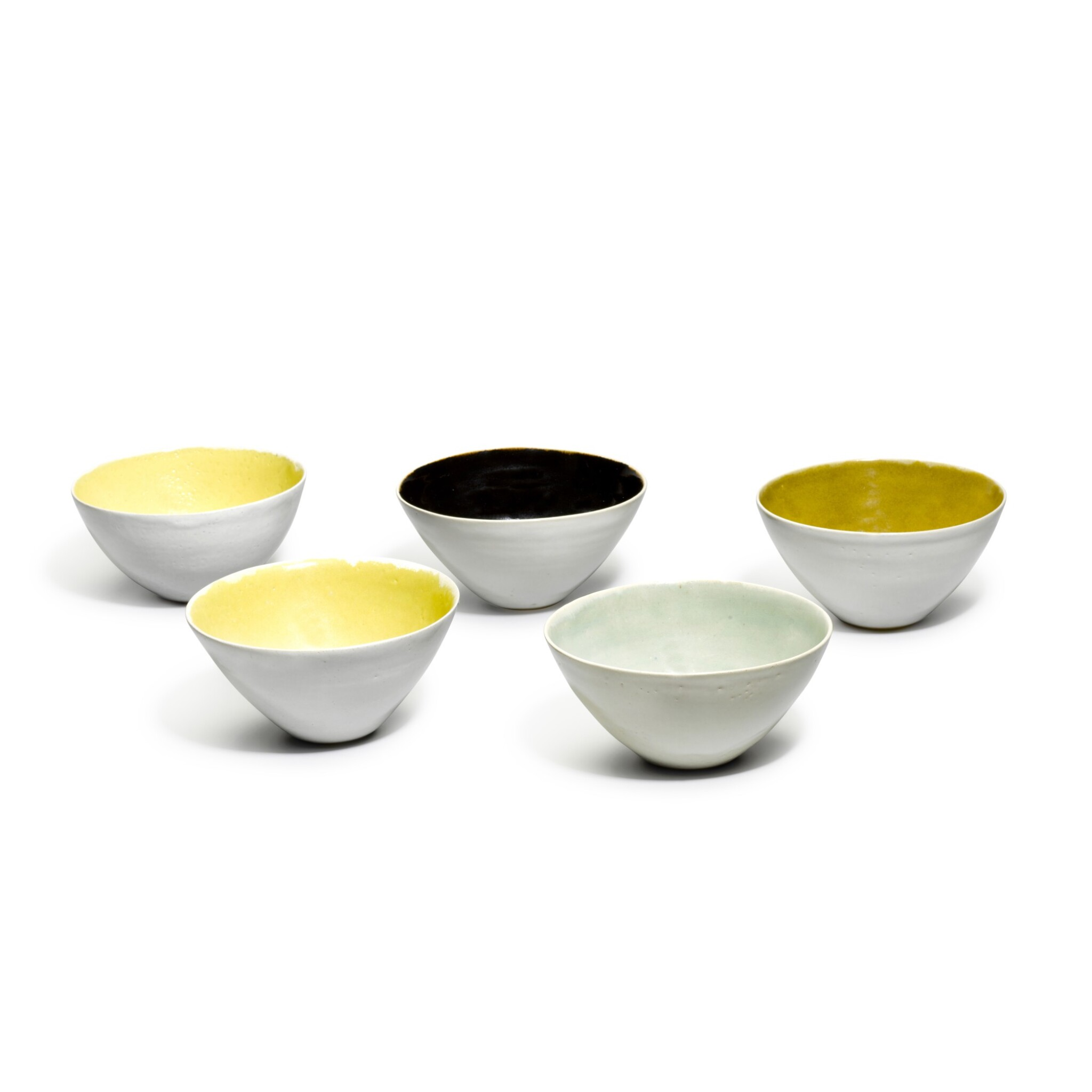 View full screen - View 1 of Lot 82. DAME LUCIE RIE   FIVE BOWLS.