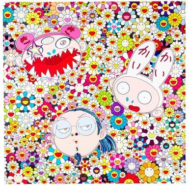 View 1. Thumbnail of Lot 45.  TAKASHI MURAKAMI | KAIKAI KIKI AND ME; AND FLOWER SMILE.
