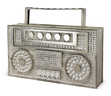 View 2. Thumbnail of Lot 33. JUDITH LEIBER COUTURE | DISCO BOOMBOX, 2020..