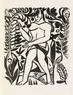 L'Enchanteur pourrissant. 1909. Exemplaire sur vélin de Paul Bonet, relié par et pour lui-même