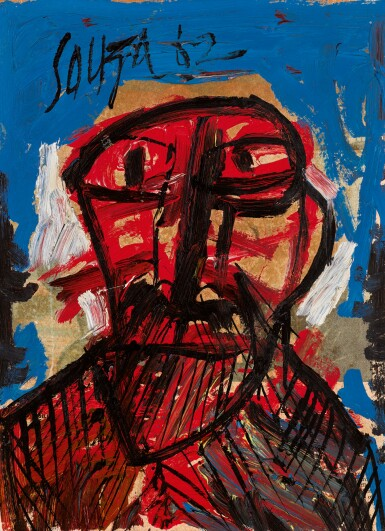 FRANCIS NEWTON SOUZA | Untitled (Head)