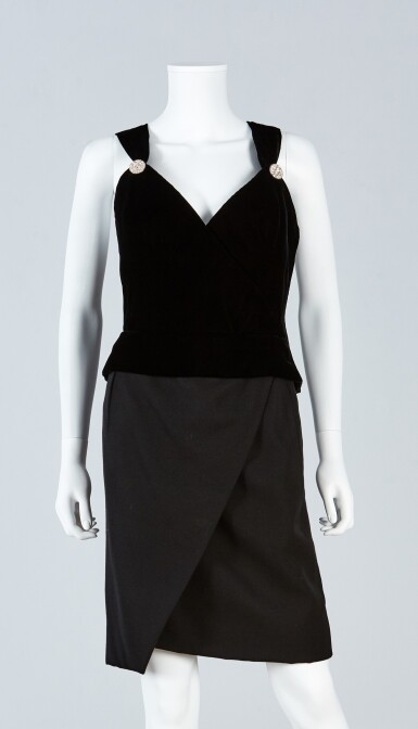 View 4. Thumbnail of Lot 39. Haute Couture Suit Ensemble, Fall/Winter Collection, 1989.