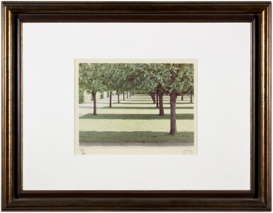 View 2. Thumbnail of Lot 76.  DAVID HOCKNEY  | 'HERRENHAUSEN, HANNOVER', MAY 1970 (FROM THE PORTFOLIO TWENTY PHOTOGRAPHIC PICTURES).