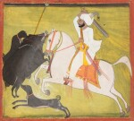 RAJASTHAN, MEWAR, LATE 18TH CENTURY AND EARLY 19TH CENTURY | FOUR PORTRAITS OF INDIAN DIGNITARIES