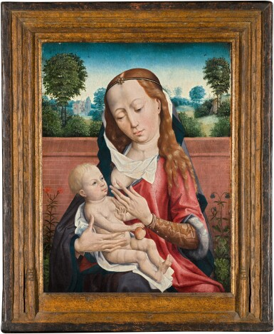 View 2. Thumbnail of Lot 3. The Virgin and Child | 《聖母與聖嬰》.
