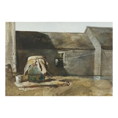 ANDREW WYETH |  DRY WELL (RAIN BARREL)