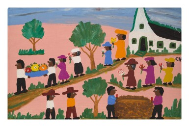 CLEMENTINE HUNTER | FUNERAL PROCESSION