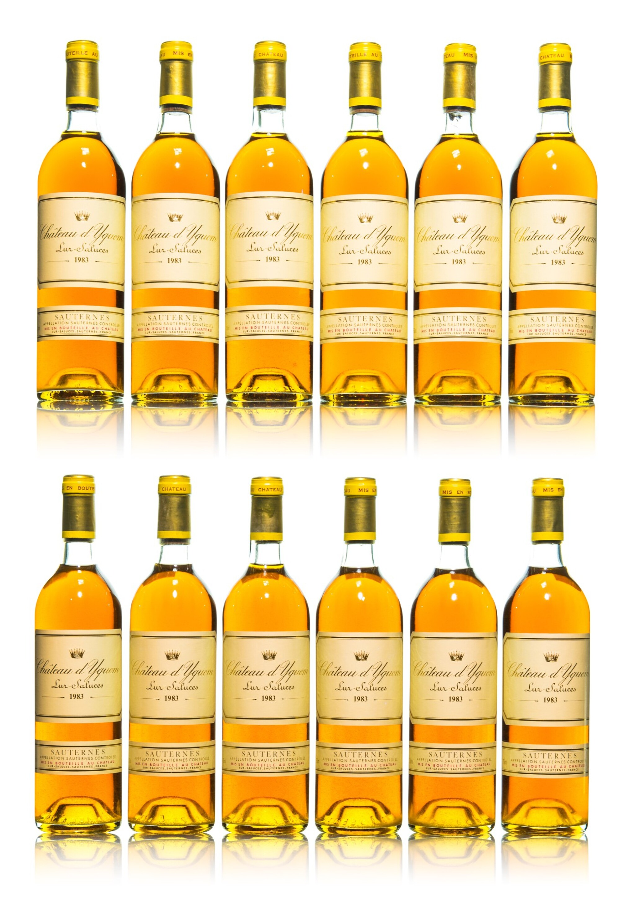 View full screen - View 1 of Lot 118. Château d'Yquem 1983 (12 BT).