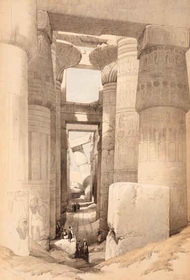 View 3. Thumbnail of Lot 132. David Roberts |The Holy Land, Syria, Idumea, Arabia, 1842-1849, 6 volumes.