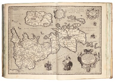 View 3. Thumbnail of Lot 54. COMPOSITE ATLAS | A volume of maps, compiled circa 1657.