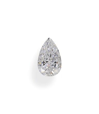 A 1.20 Carat Pear-Shaped Diamond, D Color, Internally Flawless