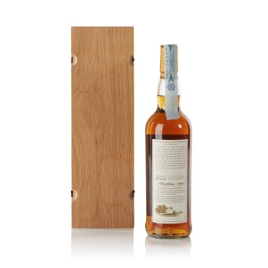 View 2. Thumbnail of Lot 33. The Macallan Fine & Rare 50 Year Old 50.8 abv 1952 .