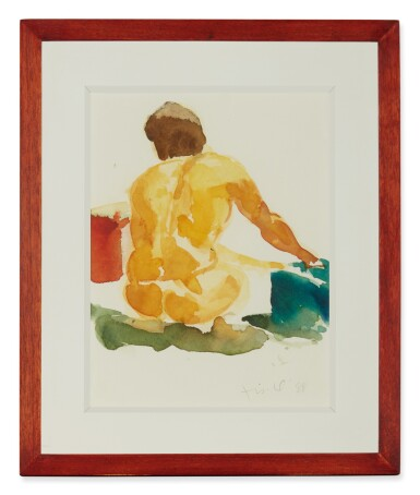 View 2. Thumbnail of Lot 548.  ERIC FISCHL | UNTITLED (NUDE).