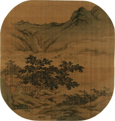 View 4. Thumbnail of Lot 2522.  ANONYMOUS 佚名   ALBUM OF VARIOUS OBJECTS AFTER SONG AND YUAN MASTERS 擬宋元諸家雜畫冊.