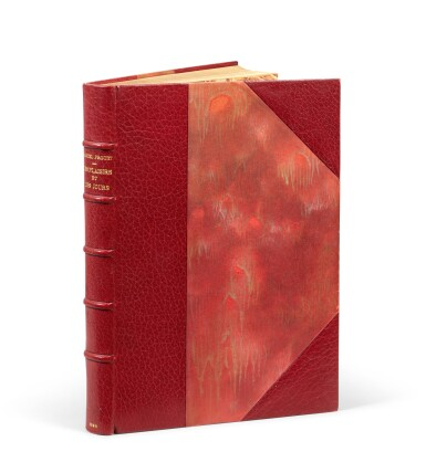 View 4. Thumbnail of Lot 172. Les Plaisirs et les Jours. Ex. de Heredia. Avec envoi de Proust et de M. Lemaire, et une aquarelle originale.