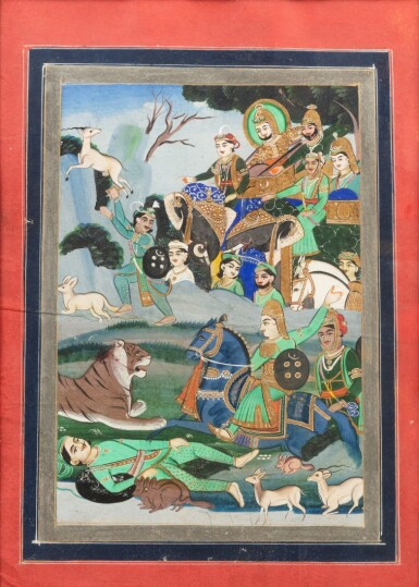 View 9. Thumbnail of Lot 36. INDIA, RAJASTHAN, PAHARI, LATE 18TH CENTURY AND 19TH CENTURY | FIVE INDIAN MINIATURES .