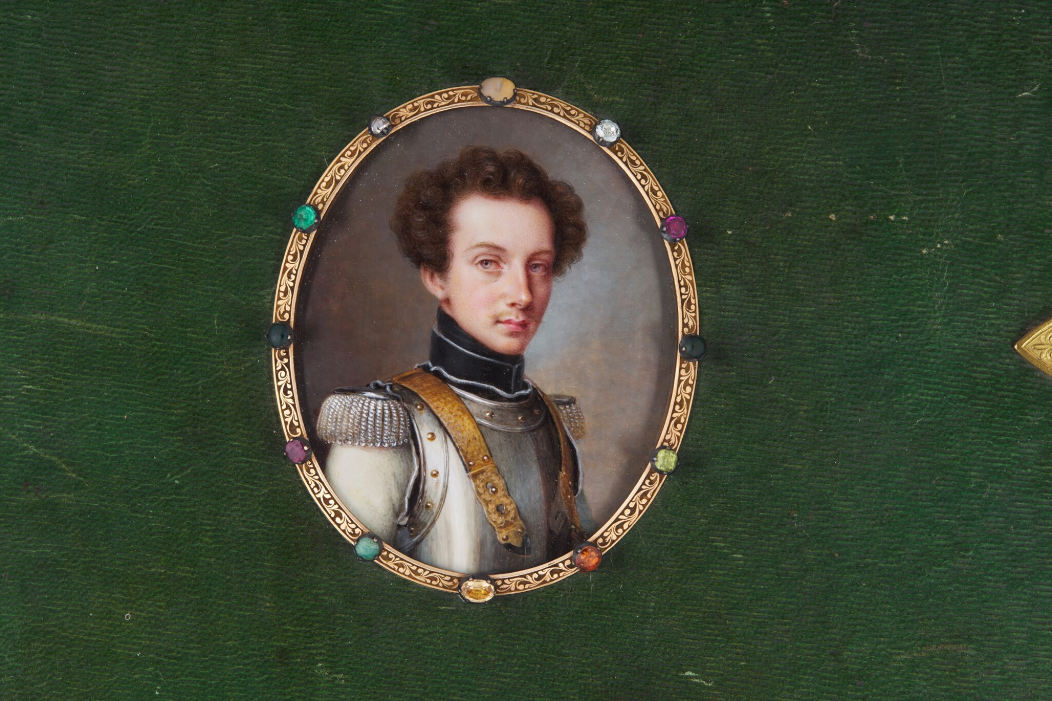 View full screen - View 1 of Lot 176. Portrait of Friedrich, Prince of Prussa (1794-1863), circa 1820.