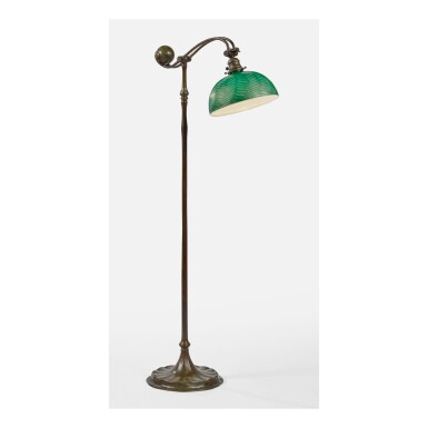 TIFFANY STUDIOS | COUNTER-BALANCE FLOOR LAMP