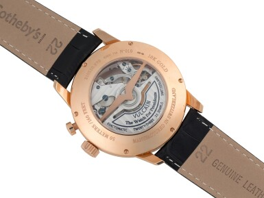 VULCAIN | CRICKET, REF 210550.279 PINK GOLD ALARM WRISTWATCH WITH DATE CIRCA 2013